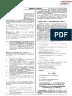 Ley Que Modifica La Ley 29409