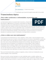 Triamcinolona tópica