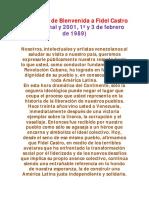 LOS 911 FIRMANTES QUE LE DIERON LA BIENVENIDA AL «SOCIALISMO DEL SIGLO XXI» EN AMÉRICA LATINA