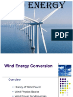 About Wind Energy
