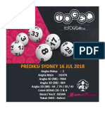 Mamadewa - Prediksi Togel Sydney - 16 Jul 2018