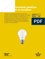 Project Localism Launch Document