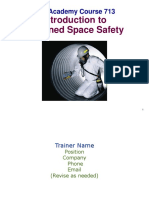 713 Confined Space