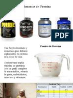 Capítulo 8.2 Suplementos de Proteína