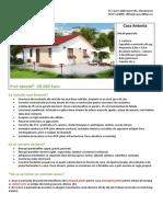 Oferta Casa Antonia