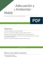 Plan de Adecuación y Manejo Ambiental - PAMA (1)