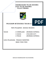 Program Intervensi 2018