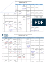 Department of Mechanical Eng Timetable for Autumn 2010-11(as at 270910)