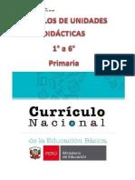 Ejemplos de unidades didácticas 1° al 6° primaria