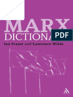 Marx, Karl_ Fraser, Ian_ Marx, Karl_ Wilde, Lawrence - Marx Dictionary