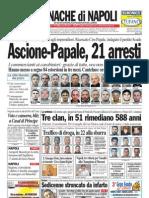 Cronache Di Napoli 20 Aprile 2010