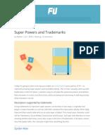 Freeform Universal - 02 - Trademarks & Super Powers