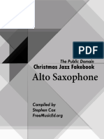 Christmas Fake Book Alto Sax