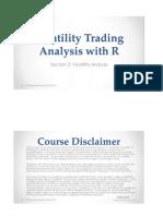 2.Volatility Analysis R