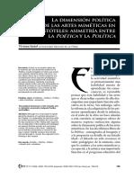dimension politica de las artes mimeticas.pdf