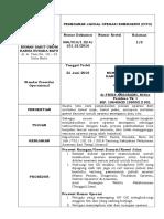13. Pemesanan Jadual Operasi Emergensi (Cito)