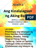 Aralin 1-Ang Kinalalagyan ng Aking Bansa.pptx