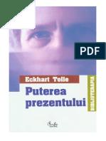 ECKHART TOLLE - PUTEREA PREZENTULUI.pdf