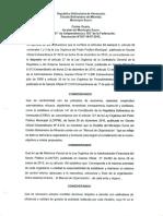 Manual de Organizacion de La Alcaldia Sucre
