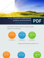 2.1.3- Scientific Understandings of Outdoor Environments- Part 2 Student