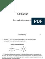 CHE 232 Aromatic