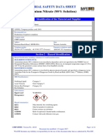 Msds Ammonium Nitrate (90 Solution)