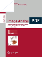 (Lecture Notes in Computer Science 10269) Puneet Sharma, Filippo Maria Bianchi (Eds.)-Image Analysis_ 20th Scandinavian Conference, SCIA 2017, Tromsø, Norway, June 12–14, 2017, Proceedings, Part I-Spr