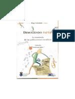Golombek Diego - Demoliendo Papers - La Trastienda de Las Publicaciones Cientificas