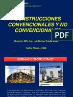 TEMA 1. Construciones Convencionales y No Convencionales