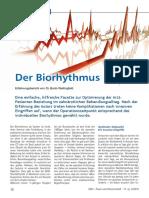 Biorhythmus Artikel