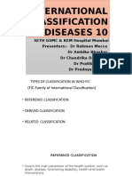ICD 10 and Changes in ICD 11