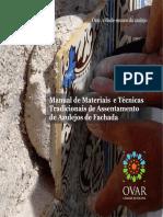 Manual Materias+Técnicas Tradicionais Assentamento Azulejos