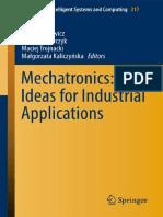 Jan Awrejcewicz - Mechatronics_Ideas for Industrial Applications_2014