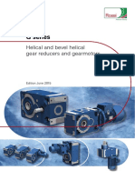 Catalogue of Rossi Gear Reducer