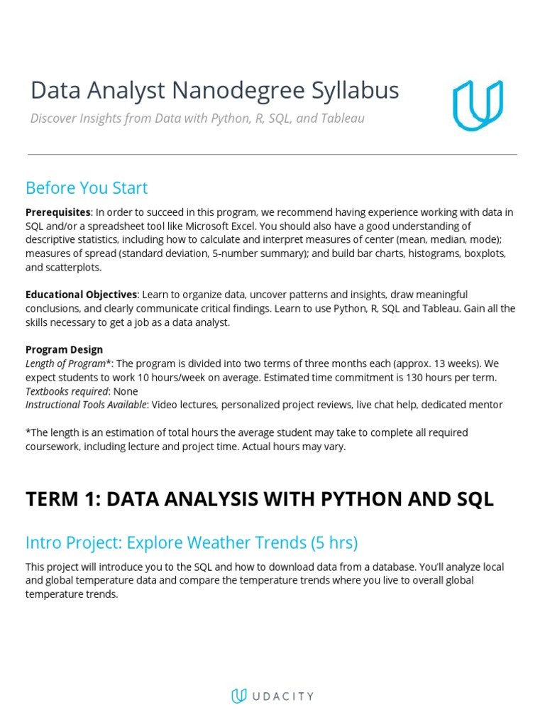 Data+Analyst+Nanodegree+program+-+Syllabus | Statistics