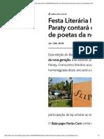 Festa Literaria Internacional de Paratibis