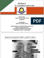 Referat sistem kardiovaskuler