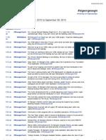 Twitter Transcript for 2010 AGM