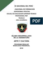 SILABO Arte y Cultura 2