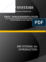 05. a Single PPT on ERP Systems- Used in Class for MBA 12-14