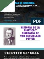 Historia de La Bioética y Biografía de Van (1)