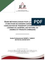 Guide Professionnel GESIP 2008.01 - Edition de Janvier 2014