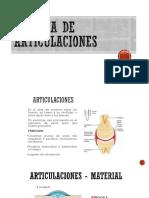 Sistema de Articulaciones