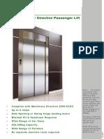 Niche Lifts Brochure Passenger 01