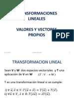TRANSFORMACIONES LINEALES NJJ