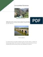 Los puentes Romano1.docx
