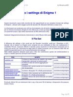 Dentro i Settings Enigma 1