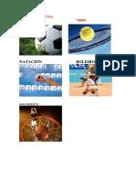 Tipos de Deportes Imágenes