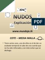nudosexplicacion-110304212351-phpapp02
