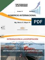 3. Introducción a La Exportación